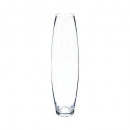 transparent clear bomb vase h40, transparent