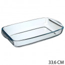 wholesale Drinking Glasses: flat rectangle glass 34x19cm, transparent
