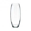 vase flora bombe transparent h26, transparent