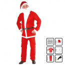 adult Santa Claus dress h 5 pc Santa Claus felted