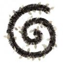 wholesale Gifts & Stationery: frosty leaf garland 150x4x2m jg, 3-fold assor