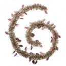 Girlandenblatt frosty 150x4x2m p, 4-fach sortiert
