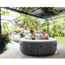 baltik 4p round bubble spa, dark gray