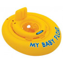 baby panties float, yellow