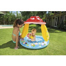 wholesale Party Items: pool sun visor mushroom, multicolored