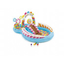candy play area, multicolored