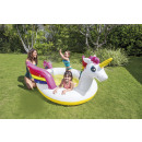 piscinette fontaine licorne, multicolore