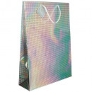 wholesale Gifts & Stationery: laser gift bag gm, 3- times assorted