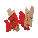 wholesale Bath & Towelling: wooden tongs times assorted subjects x12, 4- times