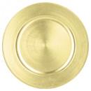 Teller rund Präsentation Gold, 2- fach sortiert