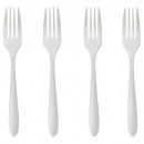 fork stainless steel x4 nevis