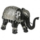 elephant black / silver gm h.18, multicolored