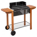 wholesale Sports & Leisure: bbq charcoal clorinda / trolley, black