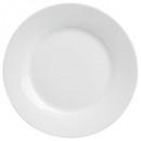 assiette plate ronde 28cm, blanc
