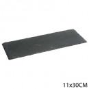plate slate 11x30cm