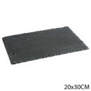 wholesale Crockery:plate slate 20x30cm