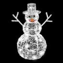 nagyker Dekoráció: kültéri világítás karácsonyi labda 3d fehér 96led