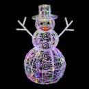 iluminación exterior bola de navidad 3d 100led mul