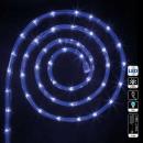led outdoor light garland 24m 8f blue