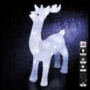 40led standing reindeer outdoor lighting