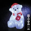 groothandel Tuin & Doe het zelf: buitenverlichting beer 30led h21cm