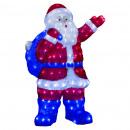 Außenbeleuchtung Santa Claus Arme 240led H75cm