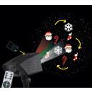 laser zewnętrzny + led 6 inter, zielone folie