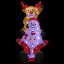 groothandel Home & Living: buitenverlichting kerstman kerstbal 60l