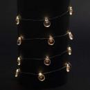 wholesale Light Garlands: garland interior copper 20led 4 plate flash,