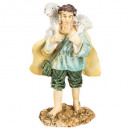 Großhandel Fanartikel & Souvenirs: Santon Harz Zubehör 11cm, 10- fach sortiert