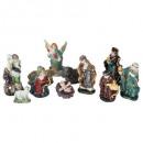 Großhandel Fanartikel & Souvenirs: santon x11 porzellan h9cm zubehör