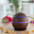 Mini humidificateur diffuseur d'arômes Dark Walnut