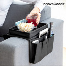 Sofa Tray with Organiser for Remote Controls Innov