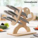 wholesale Knife Sets: Set of Knives with Wooden Base Spartan InnovaGoods