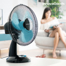wholesale Air Conditioning Units & Ventilators: Table Fan InnovaGoods Ø 30 cm 35W Black Blue
