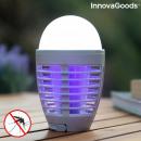 2 in 1 Wiederaufladbare Anti-Mücken-Lampe mit LED