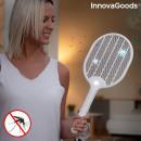 Raquette tueuse d?insectes rechargeable avec LED R