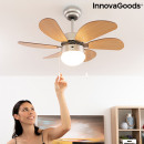 wholesale Air Conditioning Units & Ventilators: Ceiling Fan with Light InnovaGoods Ø 75 cm 55W