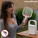 Lampe Antimoustiques et Raquette Anti-insectes Rec