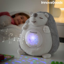 wholesale Toys: Hedgehog Soft Toy with White Noise and Nightlight
