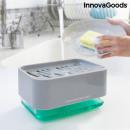 Distributeur de savon 2 en 1 pour évier Pushoap
