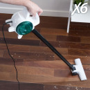 OUTLET Handy Vacuum X6 0,5 L (400-600W) 2 in 1 Sta