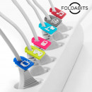 Foldabits Cable Identifiers (pack of 6)