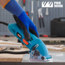 PWR WORK All·Materials Mini Saw Kompakte Kreissäge