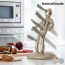 InnovaGoods Premium Vudú Knife Set (6 Pieces) - Go