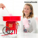 InnovaGoods Candy Floss Machine 500W Red
