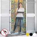 wholesale Curtains & Drapery: InnovaGoods Anti-Mosquito Curtain - Black