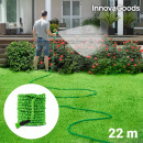 InnovaGoods Dehnbarer Gartenschlauch 22 m