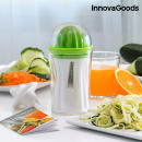 InnovaGoods 4-in-1 Spiralizer & Juicer with Recipe