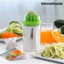 Cortador de Verduras y Exprimidor 4 en 1 con Recet